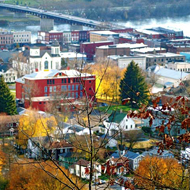 Owego, New York by Carol Sunderwirth