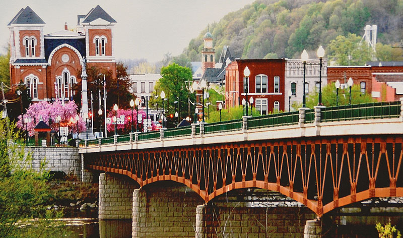 Carol Sunderwirth - Owego Bridge