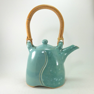 Gary Rith Teapot with Handle by Gary Rith