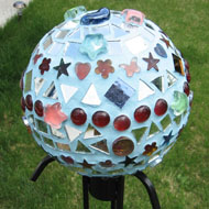Pat Stacconi - Gazing Ball by Pat Stacconi